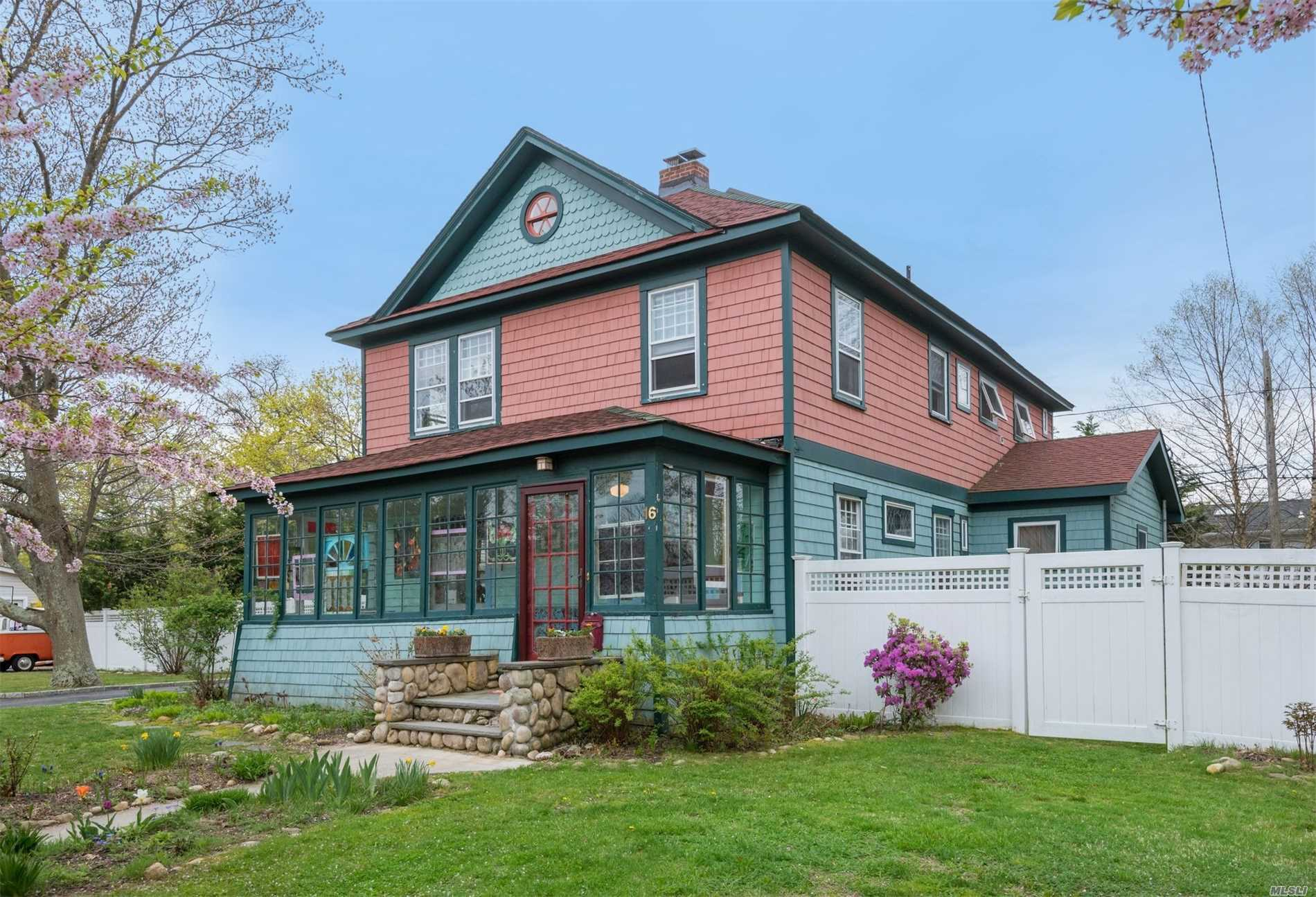 Photo of home for sale at 16 Division Ave, Blue Point NY