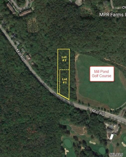 Photo of home for sale at Mill Rd - Lot #1, Yaphank NY