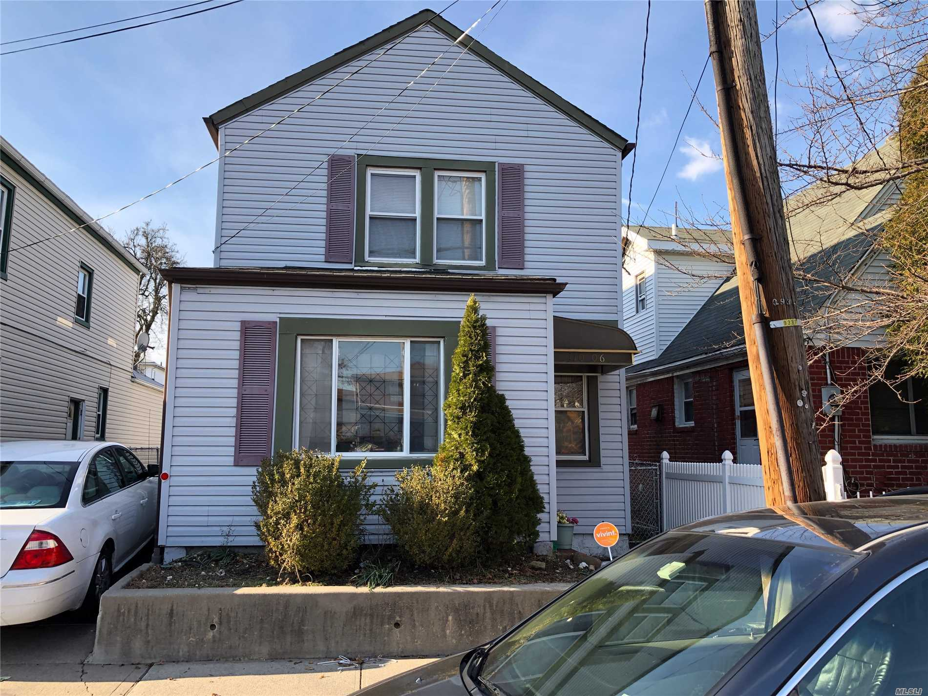Photo of home for sale at 110-06 Springfield Blvd, Queens Village NY