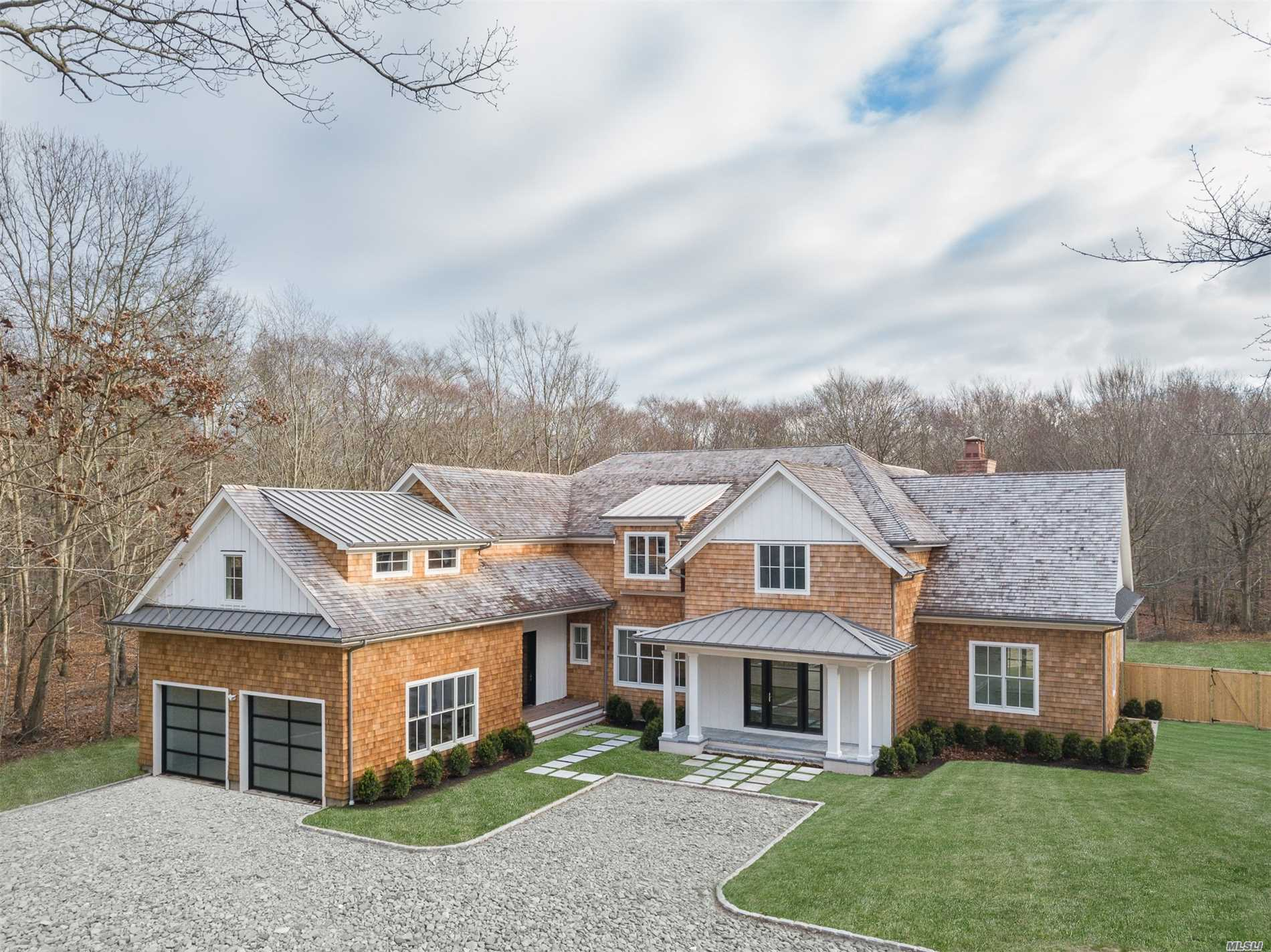 Photo of home for sale at 47 Old Orchard Ln, East Hampton NY