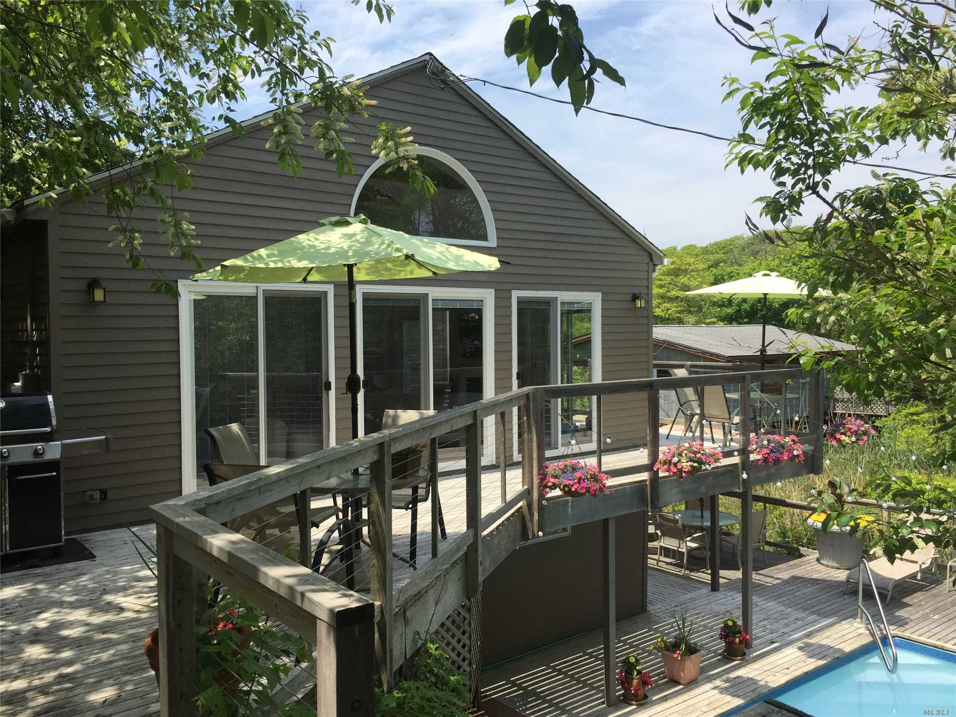 Photo of home for sale at 334 Ozone Walk, Fire Island Pine NY
