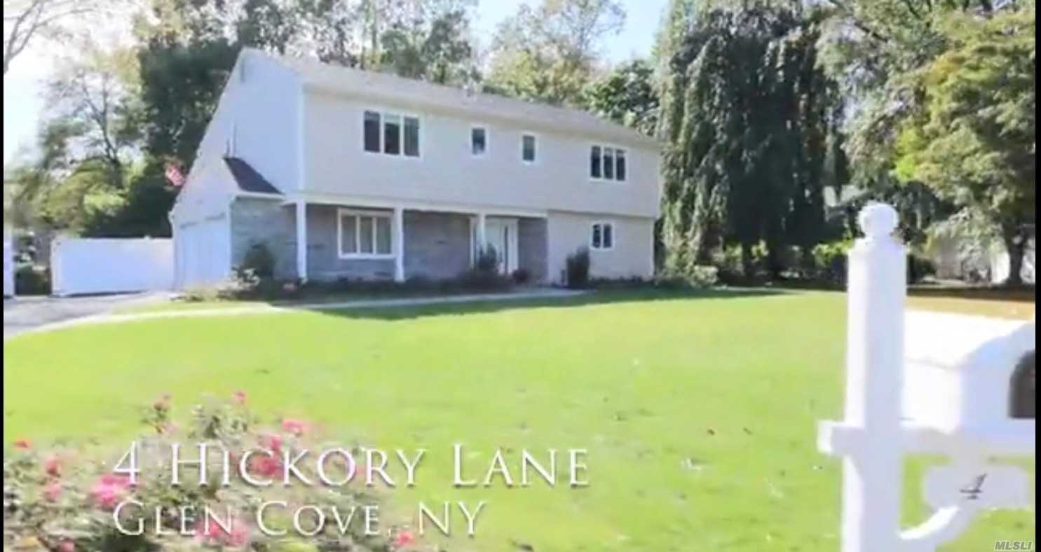 Photo of home for sale at 4 Hickory Ln, Glen Cove NY