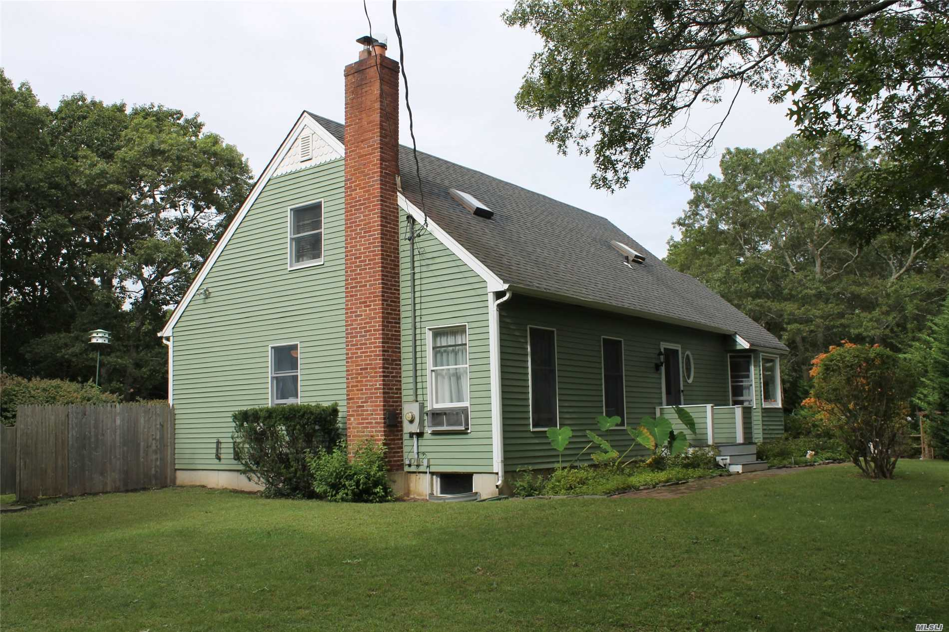 Photo of home for sale at 32C Canoe Place Rd, Hampton Bays NY