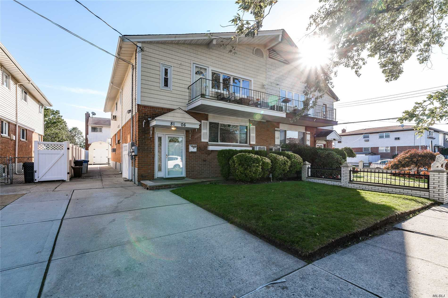 Photo of home for sale at 81-06 151st Ave, Howard Beach NY