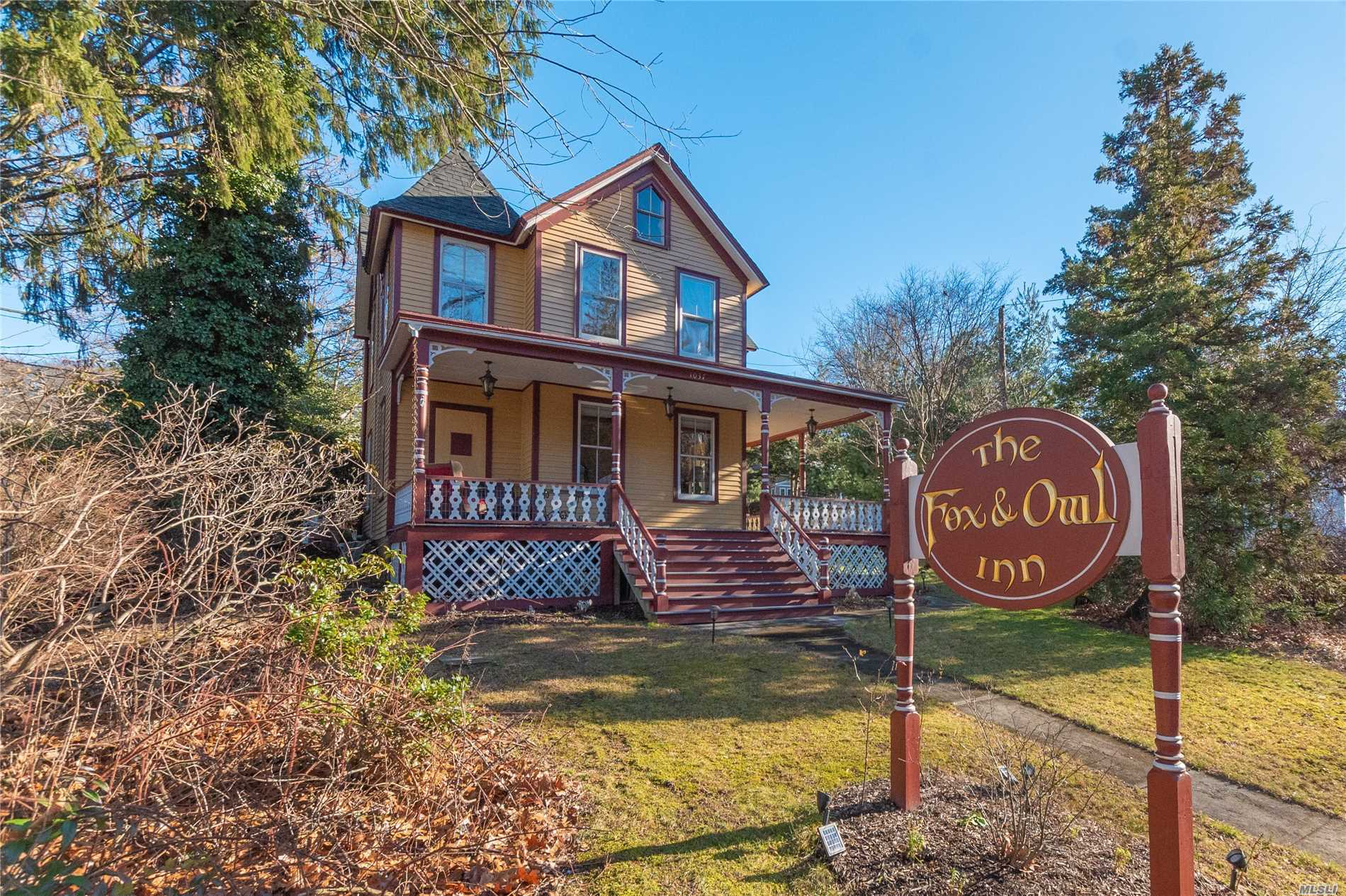 Photo of home for sale at 1037 Main St, Port Jefferson NY