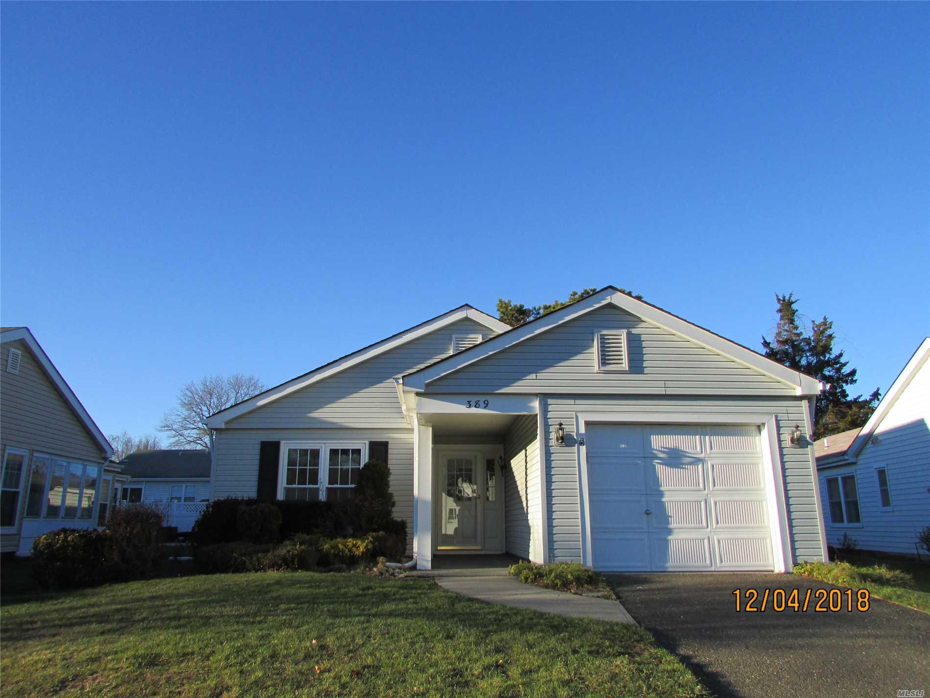 Property for sale at 389 Kingston Dr, Ridge,  NY 11961