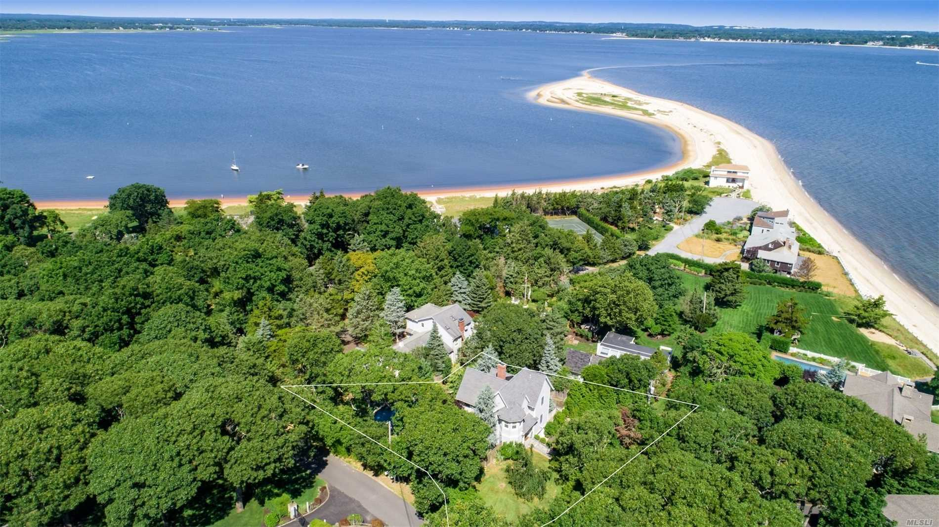 Photo of home for sale at 60 Red Cedar Point Rd, Hampton Bays NY