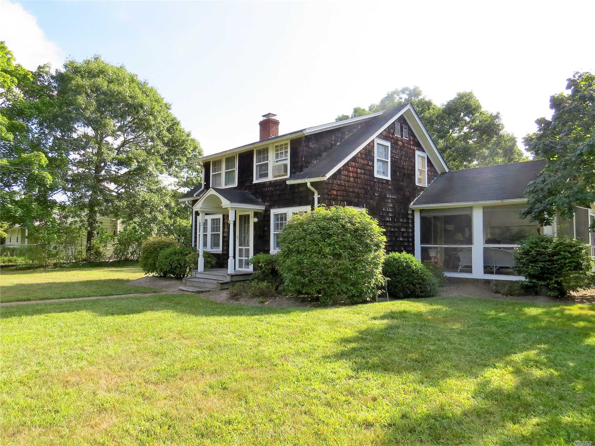 Photo of home for sale at 84 Oneck Ln, Westhampton Bch NY