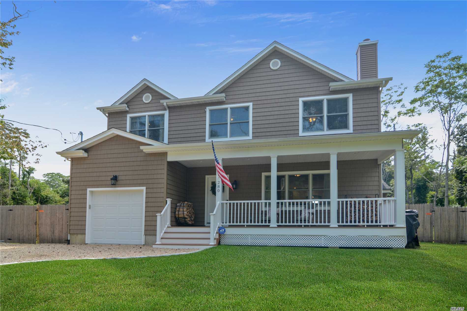 Photo of home for sale at 280 Homestead Way, Greenport NY