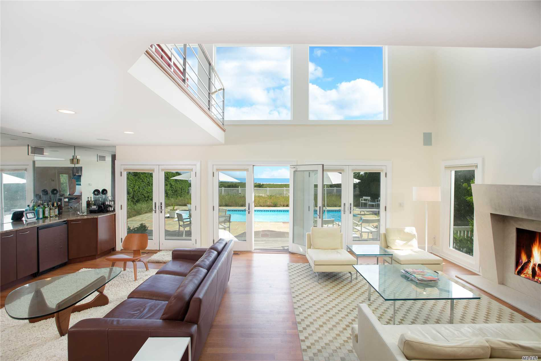 Photo of home for sale at 309 Dune Rd, Westhampton Bch NY
