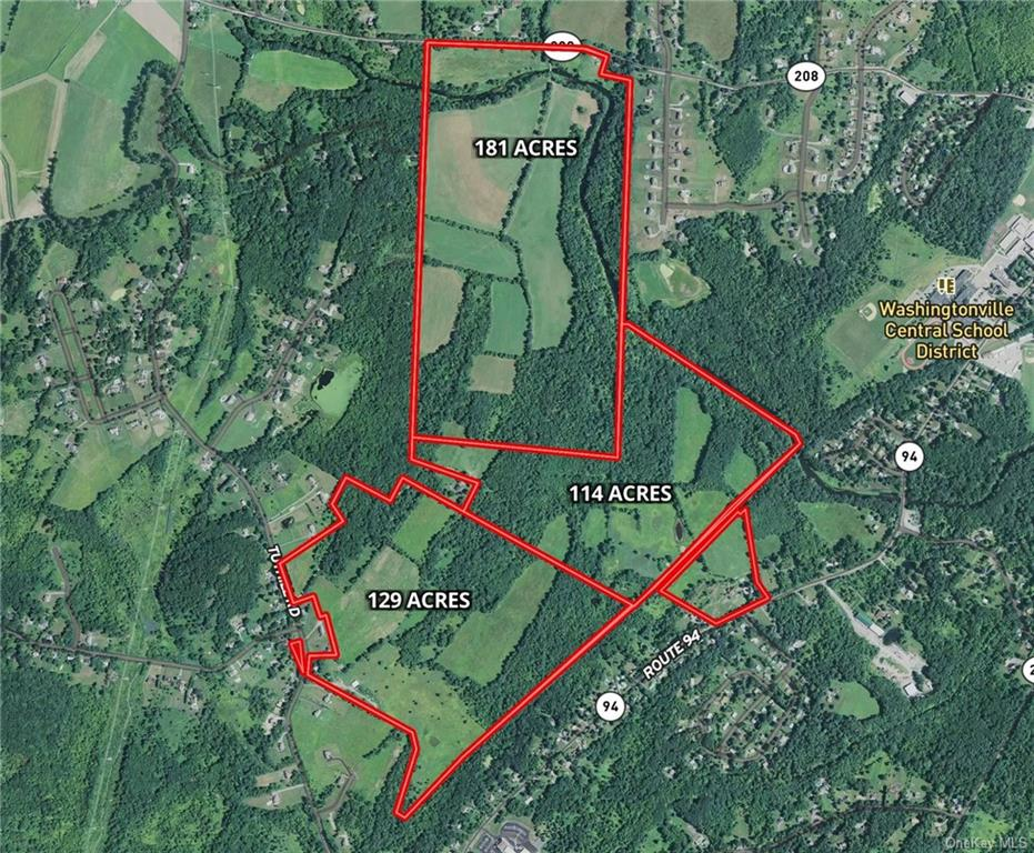 3 Tax Map parcels totaling 425 Acres