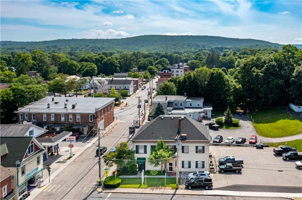 A rare opportunity to purchase an icon of a building in the Village of Pawling.