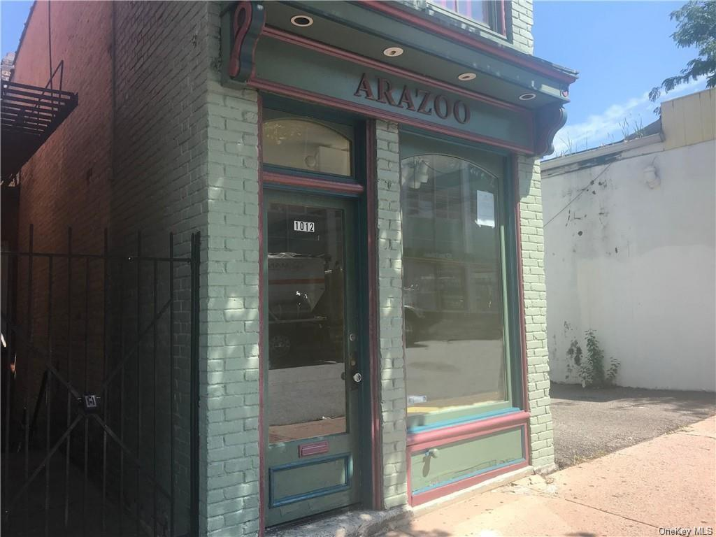 This unique brick building is located in the heart of downtown Peekskill. Walking distance to the Post office, banks, super market, restaurants,  parks, schools, bus & train station, etc. All rooms have been freshly painted. This storefront is perfect for an art gallery, boutique store, accountant, attorney, or any other type of offices.
