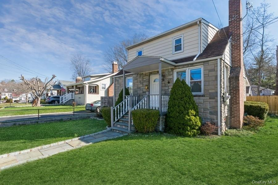 Welcome to the river town of Ossining! This move-in-ready, charming capecod is nestled on a quiet st