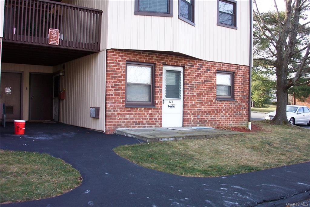 55+ community. NEEDS TLC!... First floor studio with no steps! Studio condo with wall built for smal
