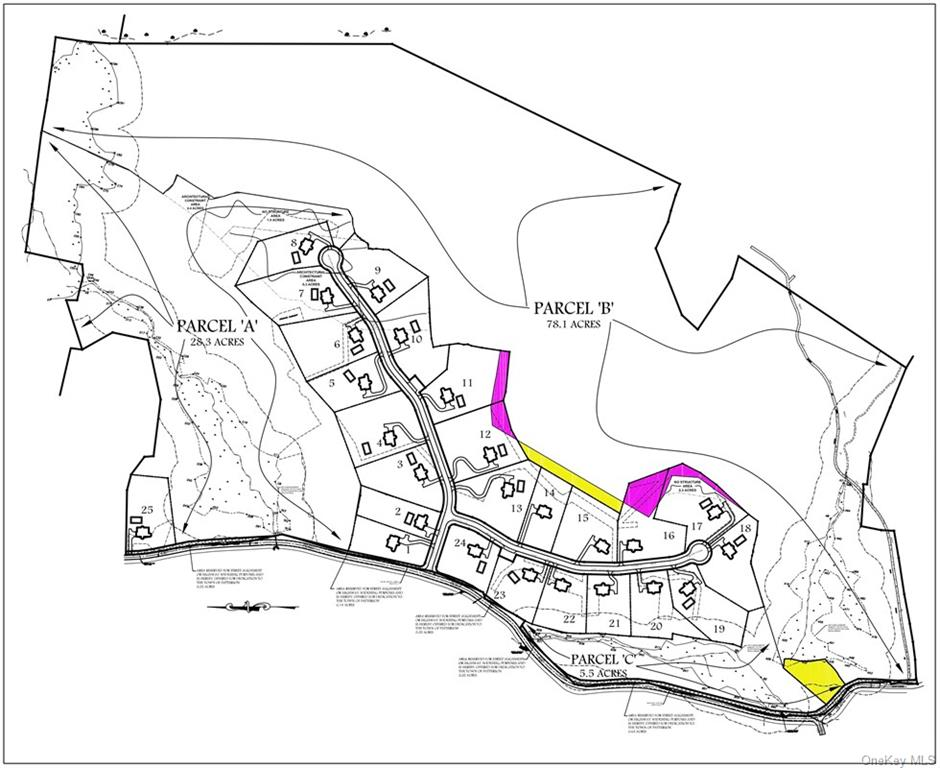 Approved 25 lot subdivision