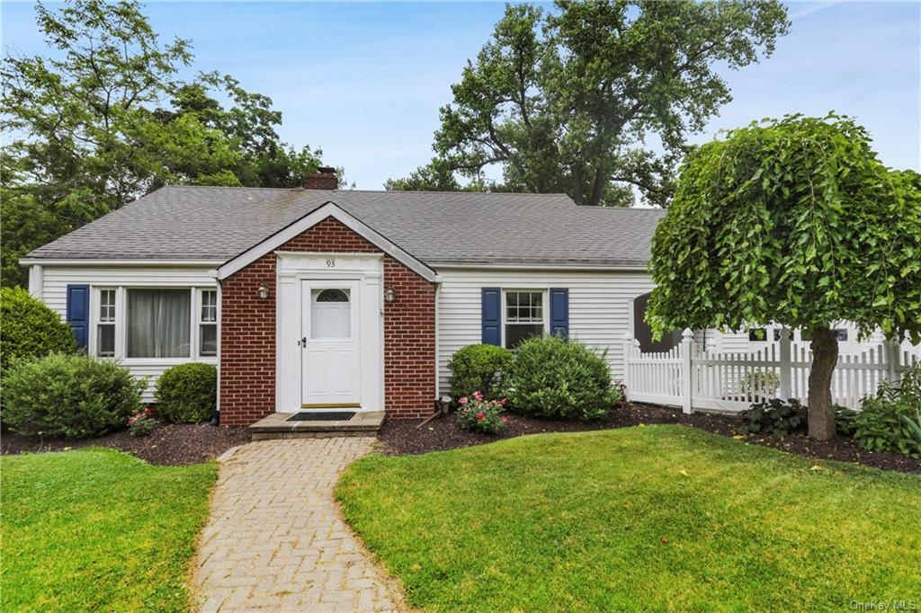 Welcome to 93 Maple Street! Looking for a charming turn key home that is walking distance to train,