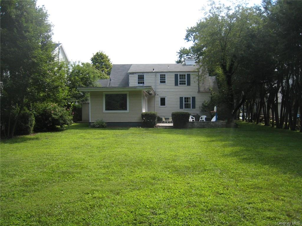 Welcome to the beautiful, private backyard at 115 Wappnocca Avenue, Rye.