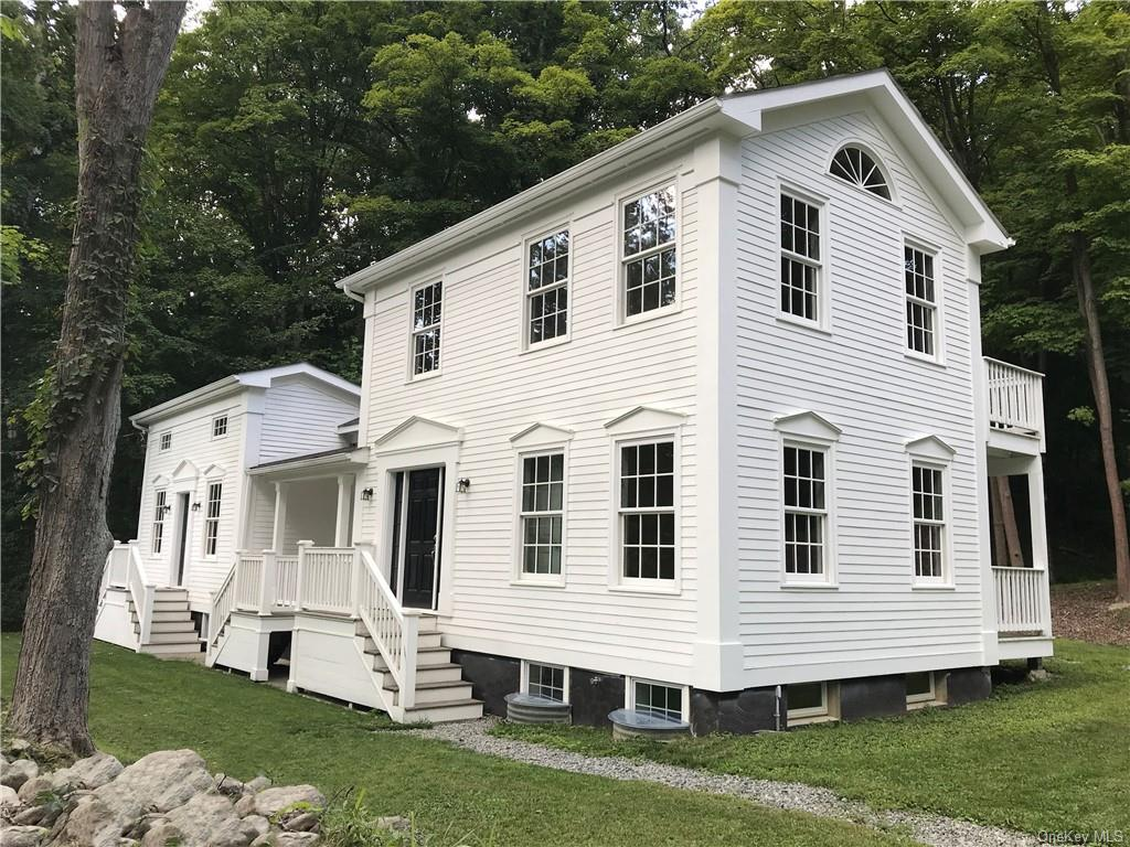 Greek Revival style is born again. Within the existing footprint and with respect for the historic c