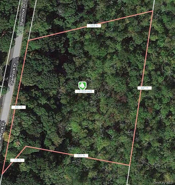 3 Acres for sale in Putnam Valley with Mahopac Schools. There a is a steep drop off at road then lev