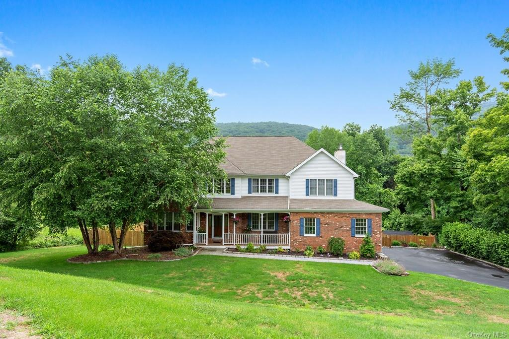 Welcome home to this magnificent colonial on over a level acre with an amazing in-ground pool. The c