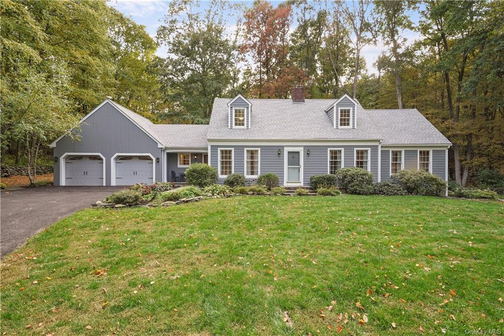 Welcome home to this Gorgeous 4BR Custom Cape Cod nestled on 5+Acres