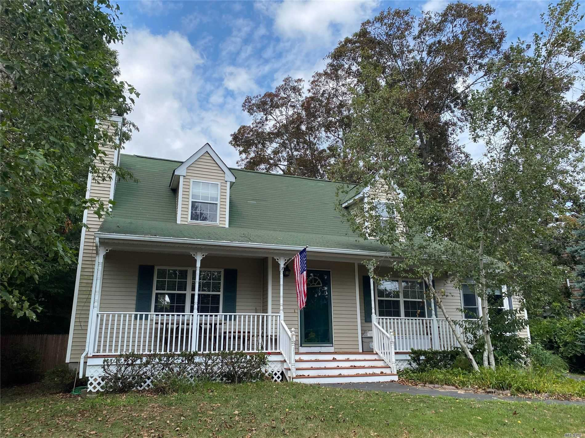 Listing in Center Moriches, NY