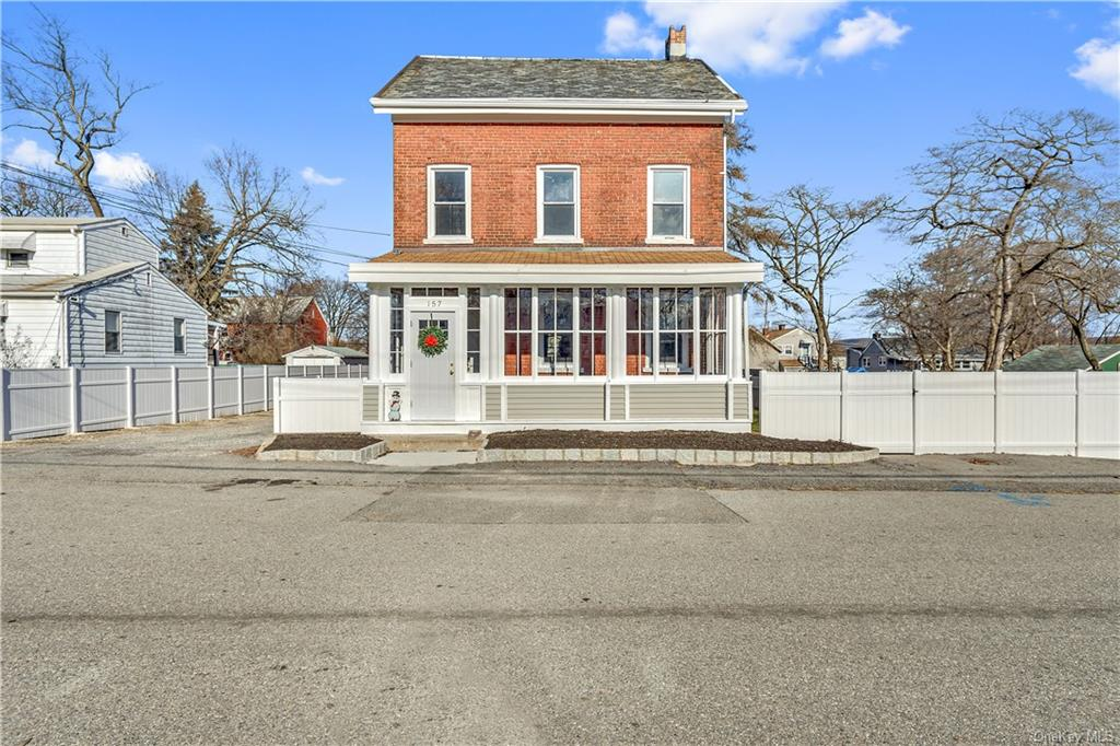 This Gorgeous Brick Colonial Single Family Townhouse with over 3,000 sq ft is fully renovated and co
