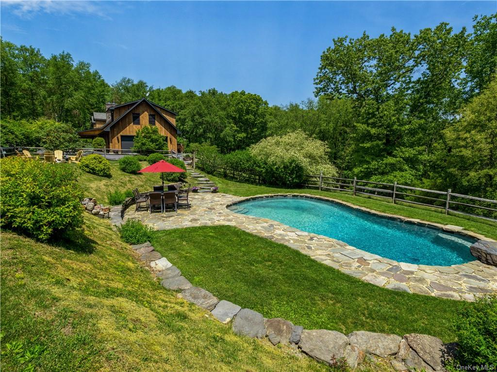 Stunning custom built by owner cedar log home on 4 + private  acres  on private lane.