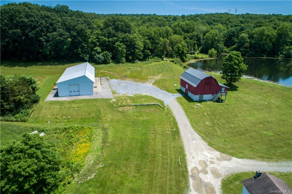 Spillway from 3 acre pond.